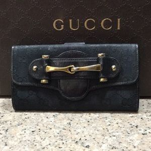 Authentic Gucci Monogram Wallet